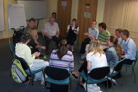 Facilitating a group  using Informal Learning methods